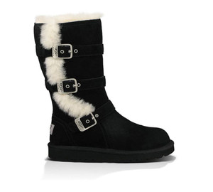 UGG Girls Kids Maddi Boot Black | UGG 1001520 BLK