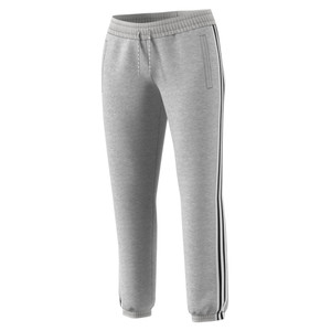 Adidas Women's 3 Stripe 7/8 Pant Medium Grey Heather