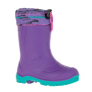 Kamik Girl's Snobuster 2 Winter Boot Purple/Violet | Kamik Snobuster 2 Purple