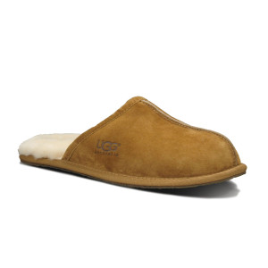 UGG Scuff Slipper Chestnut Suede Mens