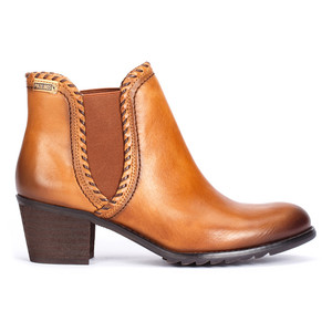 Pikolinos Women's Andorra 913-8544 Ankle Boot Brandy/Olmo   Pikolinos 913-8544 Brandy/Olmo