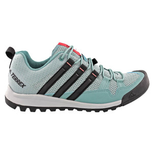 Adidas Women's Terrex Solo Hiking Shoe Clear Onix/Steel