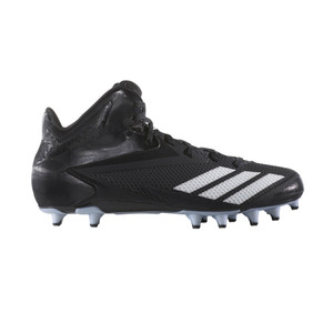 Adidas Men's 5-Star Mid Football Cleat Black/White