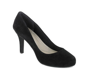Rockport Women's Seven To 7 Plain Pump 95mm Black Suede 6