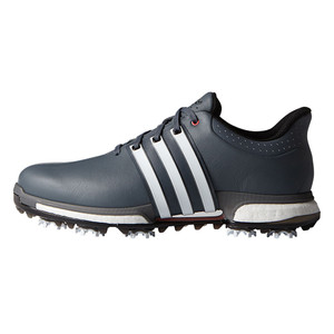Adidas Men's Tour360 Boost Golf Cleat Onix/White