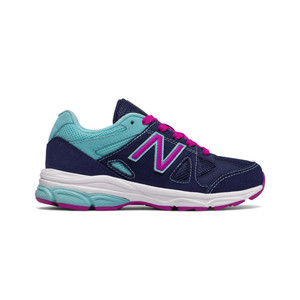 New Balance Girl's KJ888NAG Athletic Shoe Blue/Purple