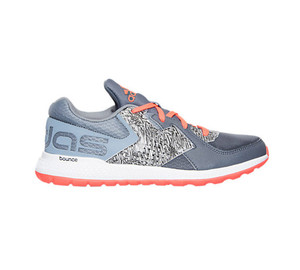Adidas Boy's Force Bounce Running Shoe Onix/Solar Red