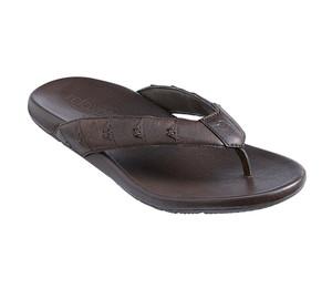 Tommy Bahama Men's Dalaway Flip Flop Dark Brown
