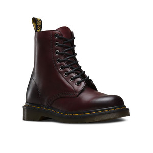 Dr Martens Unisex Pascal Antique Temperley Boot Cherry Red   Docs 21154600 Cherry Red