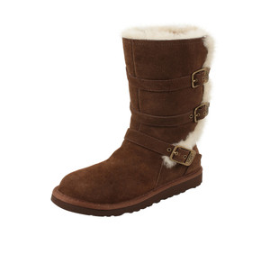UGG Girls Kids Maddi Boot Chocolate | UGG 1001520 CHO