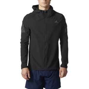 Adidas Men's Response Shell Jacket Black