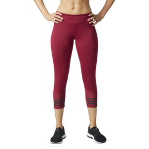 Adidas Women's Designed 2 Move 3/4 Tight Pant Mystery Ruby | Adidas BQ7374 Mystery Ruby