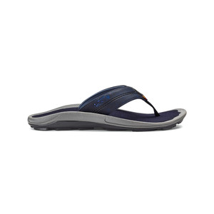 Oluaki Men's Kipi Flip Flop Trench Blue/Trench Blue