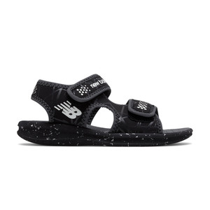 New Balance Kid's K2031BKW Sport Sandal Black/White