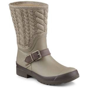 Sperry Women's Walker Fog Rain Boot Taupe Rope
