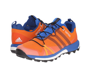 Adidas Men's Terrex Agravic Trail Runner Orange/Black