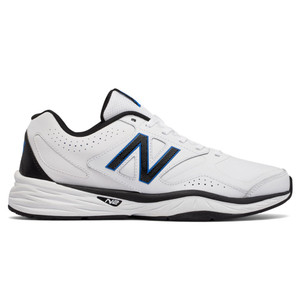 New Balance Men's MX824WB1 Cross Trainer White/Black/Blue | New Balance MX824WB1 Wht/Blk/Blue