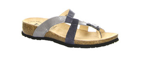 Think Women's Julia Stone Thong Sandals Water/Kombi | Think 82752 D86 Water