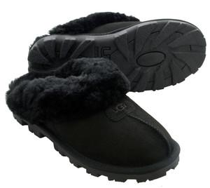 UGG Coquette Black Ladies Slippers