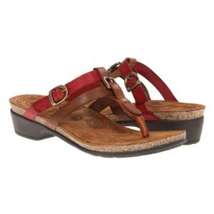 Taos Wishbone Brown Ladies Comfort Sandals