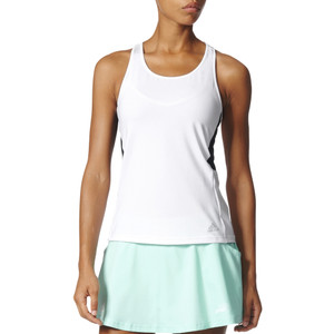 Adidas Women's Advantage Tank White/Black
