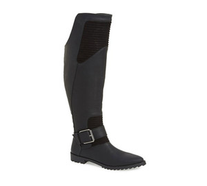 GX By Gwen Stefani Women's Toledo Over the Knee Boot Black Matte | GX Toledo Black Matte