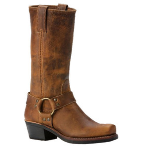 FRYE Harness 12R Dark Brown Old Town Ladies