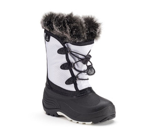 Kamik Youth Powdery Winter Boot White