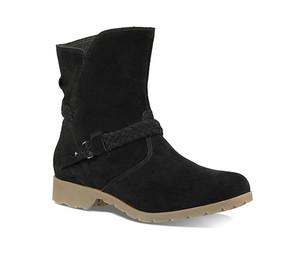 Teva Women's De La Vina Low Suede Boot Black