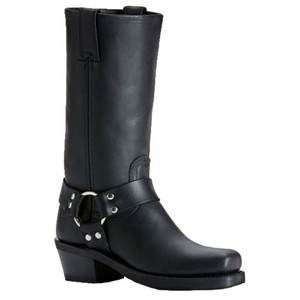 FRYE Harness 12R Black Ladies