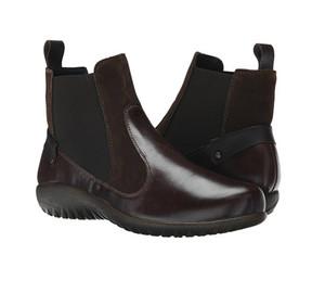 Naot Women's Konini Ankle Boot Walnut Leather/Hash | Naot 11132 S7F Walnut/Hash