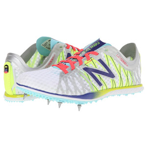 New Balance Women's WLD5000S Track Spikes Silver/Blue | New Balance WLD5000S Silver/Blue