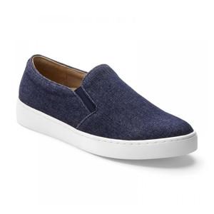 Vionic Women's Midi Slip On Sneaker Denim