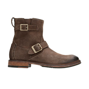 Clarks Men's Clarkdale Cash Ankle Boot Brown Nubuck | Clarks 28728 Brown