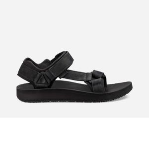 Teva Women's Original Universal Premier Leather Sport Sandal Midnight Black   Teva 1016934 MTBK