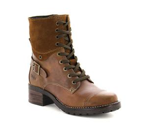 Taos Women's Crave Combat Boots Camel | Taos CRV 5514 Camel