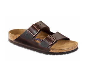 Birkenstock Men's Arizona SF Sandal Amalfi Testa Di Moro | Birk 552341 Amalfi Testa