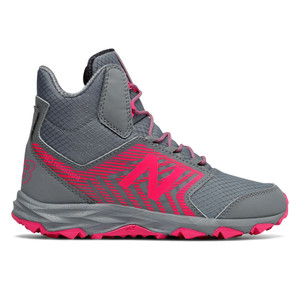 New Balance Girl's KH700PGY Boot Grey/Pink