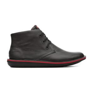 Camper Men's Beetle Chukka Boot Black/Red