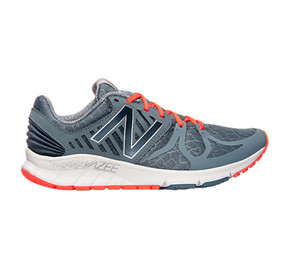 New Balance Men's Vazee Rush Running Shoe Grey/Flame