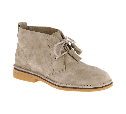 Hush Puppies Women's Cyra Catelyn Chukka Boot Taupe Suede - Shop now @ Shoolu.com