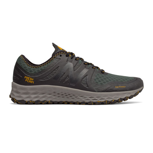 New Balance Men's MTKYMRO1 Trail Runner Faded Rosin/Black - Shop now @ Shoolu.com