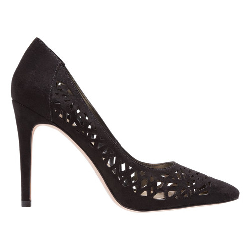 BCBG Women's Harrah Pump Black Suede - Shop now @ Shoolu.com