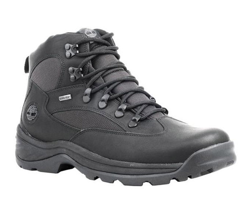 Timberland Men's Chocorua Trail Gore-Tex Mid Hiking Boot Black - Shop now @ Shoolu.com