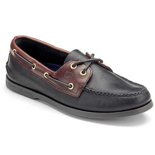 Sperry A/O Blk/Amaretto - Shop now @ Shoolu.com