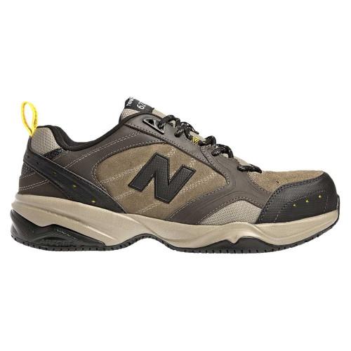 New Balance Men's MID627O Steel Toe Sneaker Brown - Shop now @ Shoolu.com