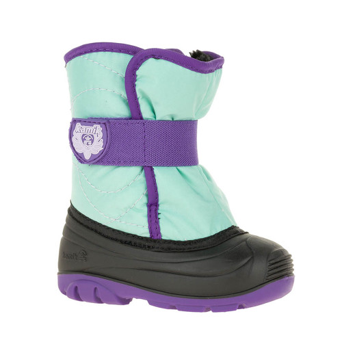 Kamik Kid's Snowbug 3 Boot Teal - Shop now @ Shoolu.com