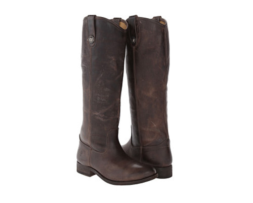 FRYE Women's Melissa Button Boot Slate - Shop now @ Shoolu.com