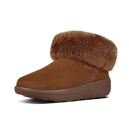 Fitflop Women's Mukluk Shorty 2 Boot Chestnut - Shop now @ Shoolu.com