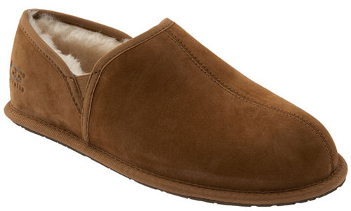 UGG Scuff Romeo Chestnut Mens Slippers - Shop now @ Shoolu.com